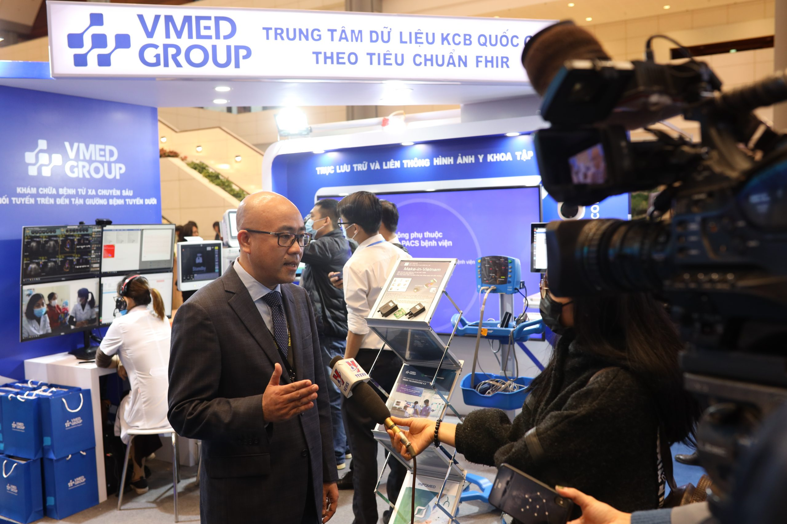 """VMED Group brings """"intensive solutions"""" to the National Health Digital Transformation Conference 2020"""
