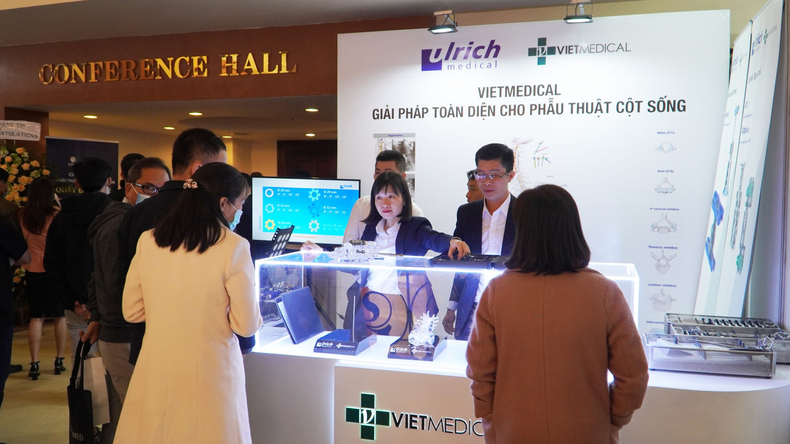 Vietmedical provides a comprehensive solution for spine surgery in Vietnam